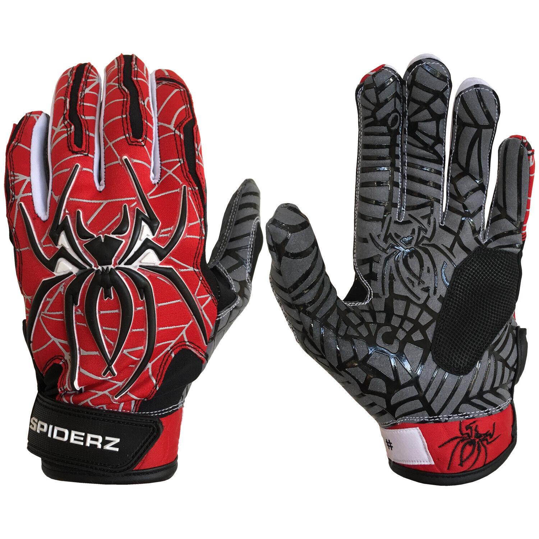 Black//White X-Large Mizuno Finch Adult Womens Fastpitch Softball Batting Gloves