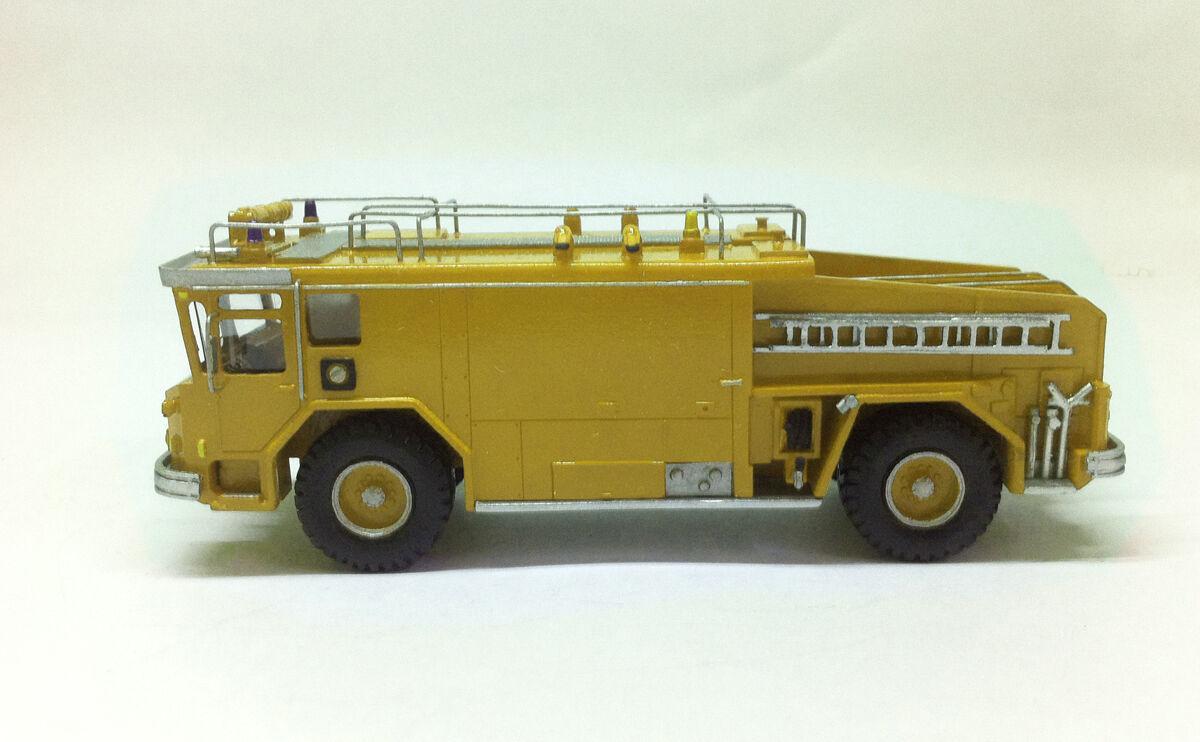 Fertig, harz, nr. 1   87 walter yankee cb3000 arff - gelb - fankit modelle