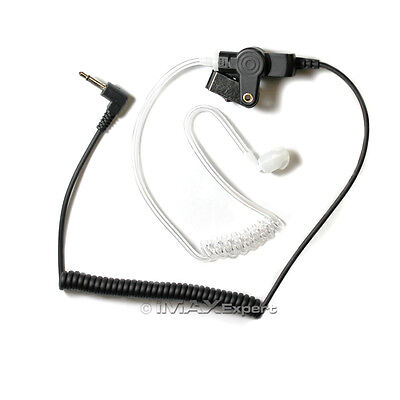 Listen Only FBI Earpiece Earphone 3.5mm for KENWOOD KMC-41M KMC-42WM Speaker Mic