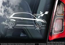 Ford Fiesta Racing - MK6 - Car Window Sticker - Forum Owners Club GTI Zetec ST