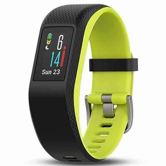 Garmin Vivosport Smart Watch, Limelight, M/L with GPS and Heart Rate Monitor