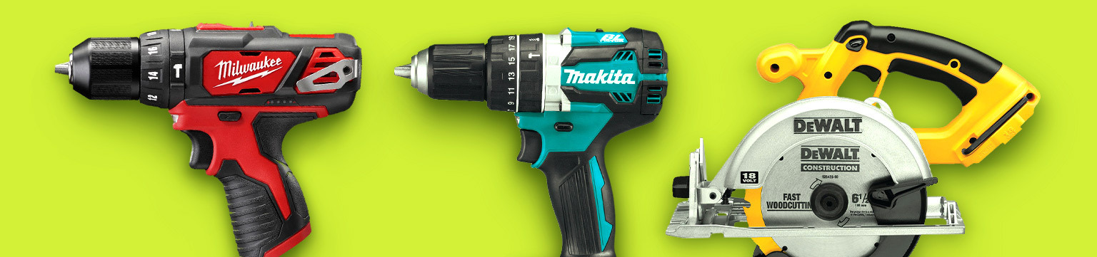 Power Tools Up to 60% Off