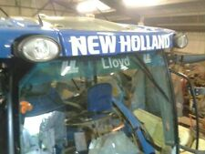 NEW Holland Trattore Adesivo Decalcomania ANTERIORE CABINA