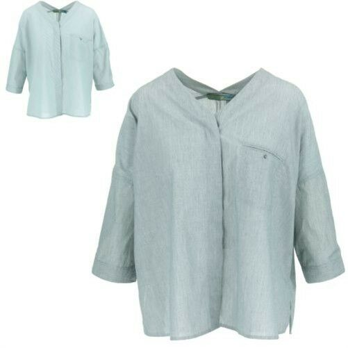 TOP CAMICETTA CASUAL DONNA BOEMIA Sweden colletto aperto V