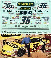 NASCAR DECAL #36 STANELY 1997 BGN PONTIAC GRAND PRIX TODD BODINE SLIXX