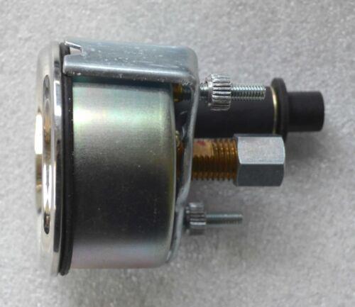 Öldruckmanometer mechanisch Einbaumaß 60 mm Beleuchtung Schlepper Traktor  61135