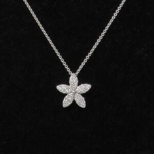 62185b783435e6 NYJEWEL Chimento Brand New 18k White Gold Lovely Floral Diamond ...
