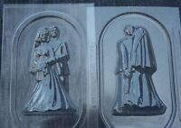 Bride & Groom 3d Fishing Rod Chocolate Candy Mold Molds Wedding Favors Favor