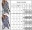 Women-Autumn-Button-Down-Floral-Shirt-Tops-Long-Sleeve-Ruffle-Blouse-Striped-Tee thumbnail 3