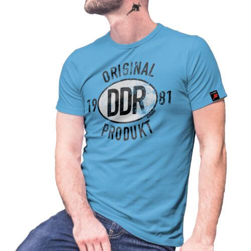 Original RDA produit 1981 Allemagne Rennpappe Honecker Ilmenau T Shirt #27462