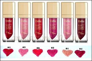 Delia-Liquid-Matt-Lipstick-Long-Lasting-Intense-Colour-Hydrates-the-Lips-Shades