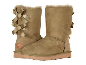 ugg boots bailey bow chestnut