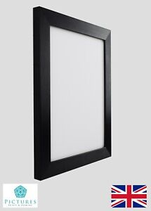 Photo Picture Frame Black 28mm 14 X14