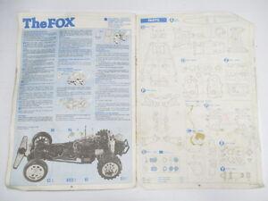 vintage manuals Tamiya