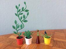 Blumentopf Lundby?  Puppenstube Puppenhaus 1:18 dollhouse plant pot