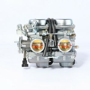 Details about PD26JS Carburetor For 250cc Chinese Regal Raptor Motorcycle  Twin Cylinder engine