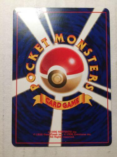 No.54 FREE SHIPPING! 32//102 Pokemon Card Japanese Base Set Kadabra