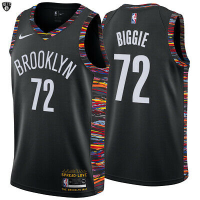 timeless design a8648 a9d7d Brooklyn Nets Nike Biggie Swingman Jersey Music Edition Notorious B.I.G  Limited | eBay