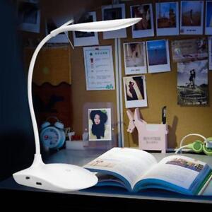 Bright folding usb touch sensor table led lamp reading bedroom table desk light ebay for Bright table lamp for bedroom
