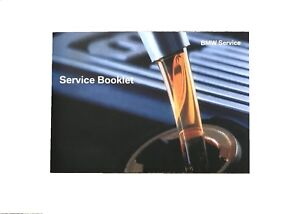 BMW-318-3-SERIES-Service-Book-Brand-New-for-All-Petrol-and-Diesel-Models-320-E46