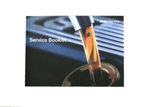 BMW 318 3 SERIES Service Book Brand New for All Petrol and Diesel Models 320 E46