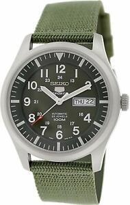 Seiko-5-Sports-SNZG09K1-Military-Style-Khaki-Green-Mens-Watch-SNZG09K-RRP-299