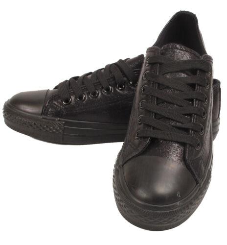 Femme Sneaker Femmes En Cuir Synthétique Fille École Baskets Baskets Chaussures Taille
