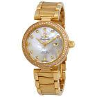 Omega De Ville 18 Carat Yellow Gold Ladies Diamond Watch 425.65.34.20.55.009