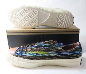 8867e64f15e7 Converse CT All Star 70 OX 144787C Victorian Blue Woven Shoes Mens ...