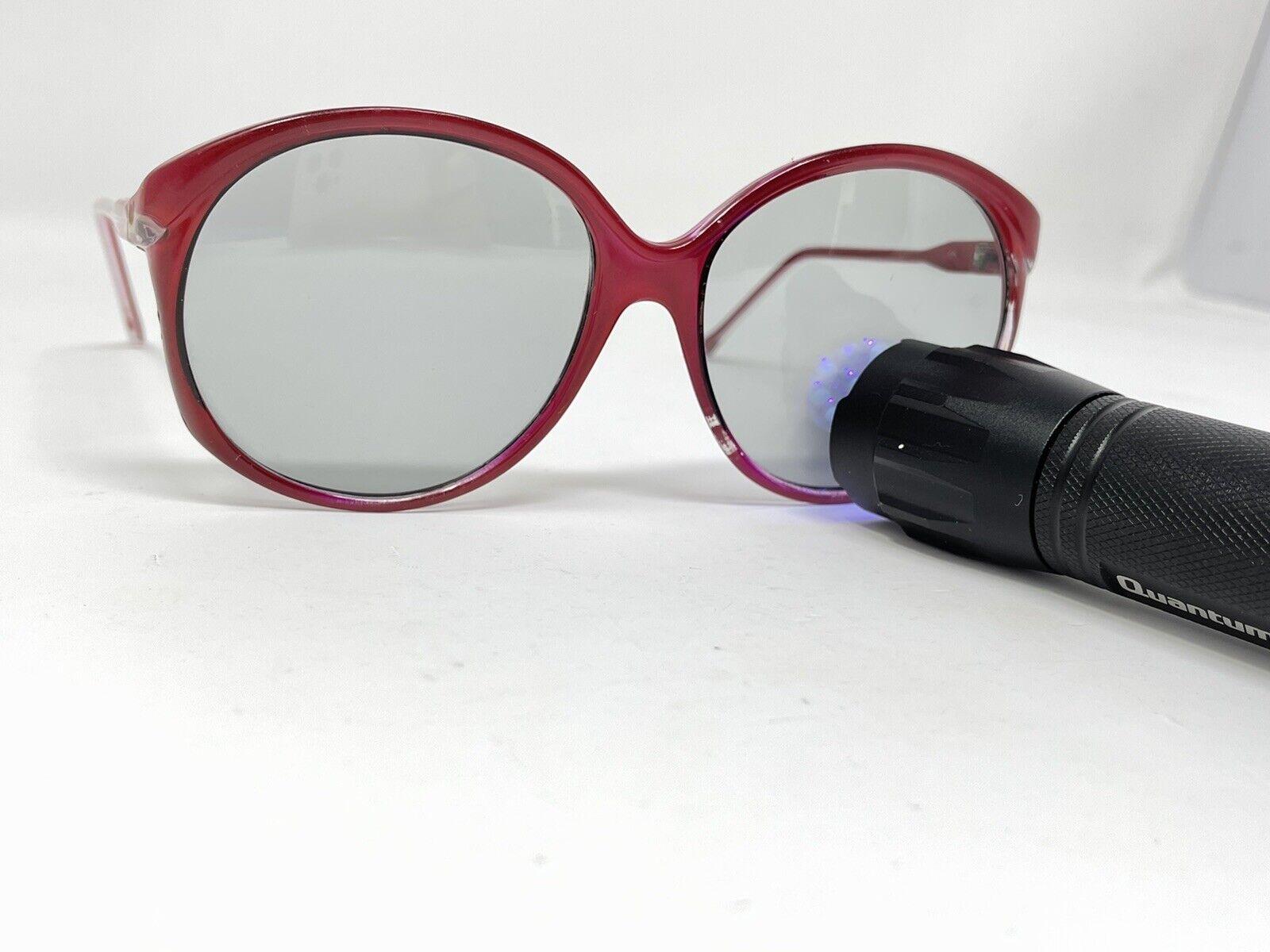 vintage Sunglasses Big Photocromatic Red SUNGLASS… - image 8