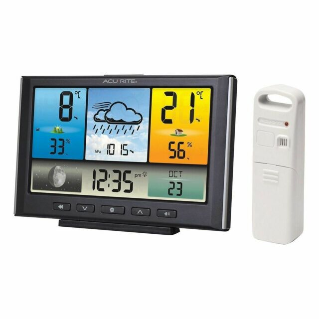 Acurite Weather Station with Colour LCD Display Wireless Outdoor Sensor