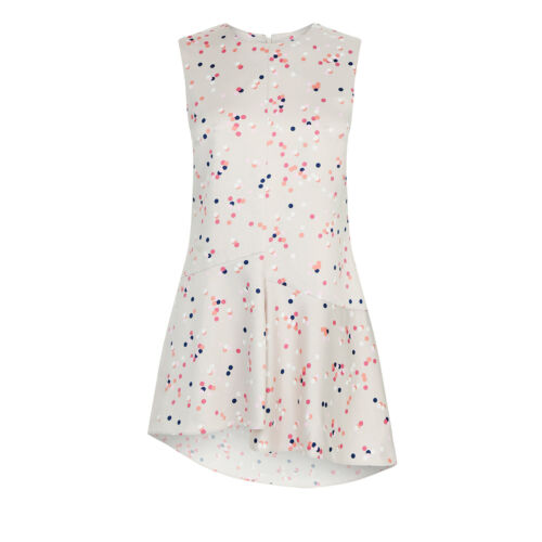 WAREHOUSE Confetti Spot Sleeveless Top 6//8//10//12 RRP £35