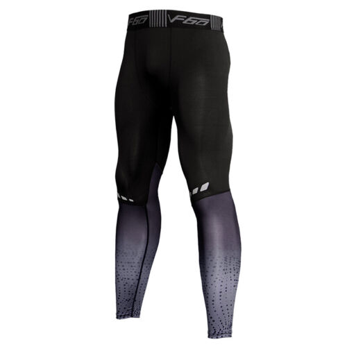 Men/'s Sports Workout Leggings Gym Fitness Under Base Layers Moisture Wicking