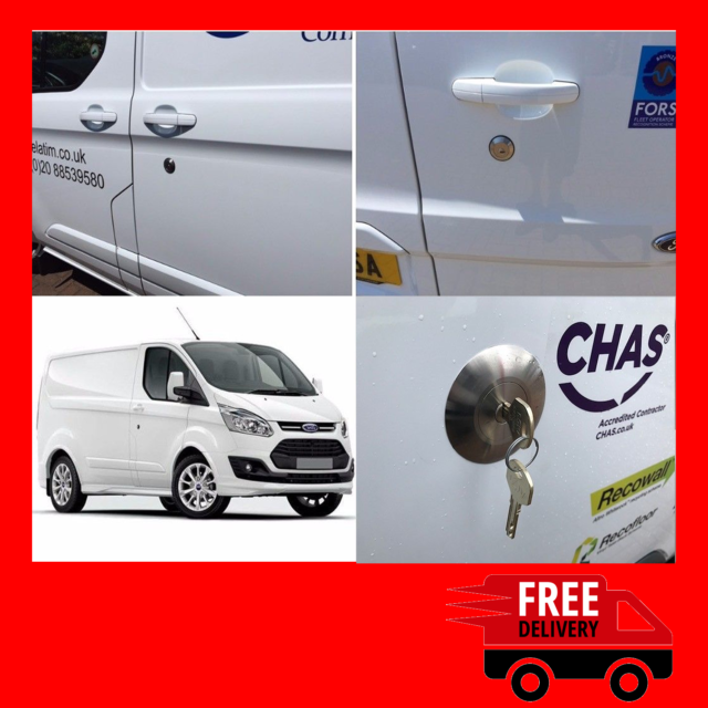 Ford Transit Mk8 van security pedal lock all models 2014 onwards