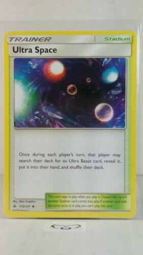 Forbidden Light  Uncommon  Mint//NM  Pokemon Ultra Space  115//131 S/&M
