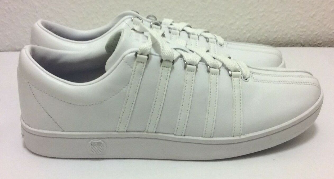 K.Swiss, The Classic Trainer, White Leather, UK 10