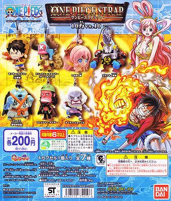 Bandai One Piece phone Strap Figure 10 millions million vs 10 Ten