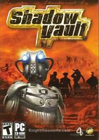 Shadow Vault Strategy Rts Pc Game In Box Win98-xp