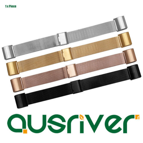 Adjustable Replacement Metal Milanese Wristband Bracelet For Fitbit Charge2
