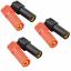 3-Paar-6-Stueck-Hochstrom-XT150-Stecker-Buchse-Goldstecker-150A-ESC-Motor-Lipo Indexbild 1