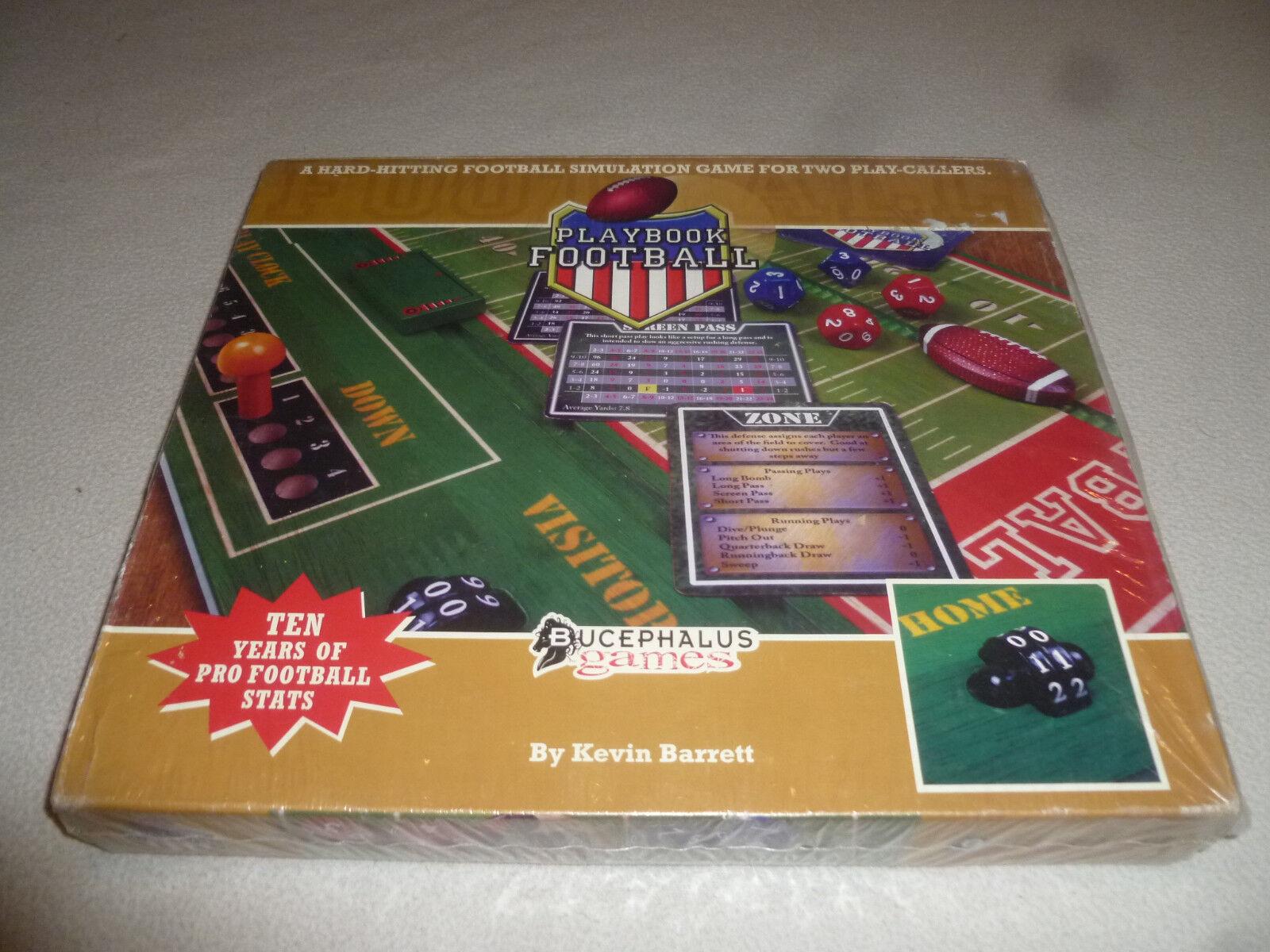 Neue playbook - brettspiel bucephalus spiele 2008 kevin barrett - simulation