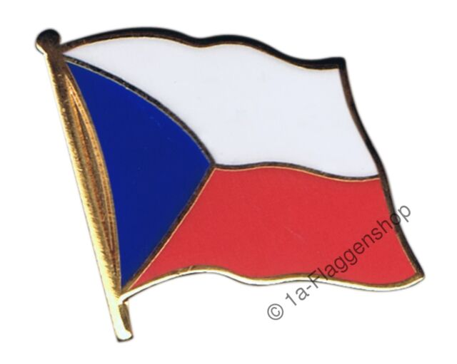 CZECH REPUBLIC Flag Pin Flags Pins Flag pin Buttons