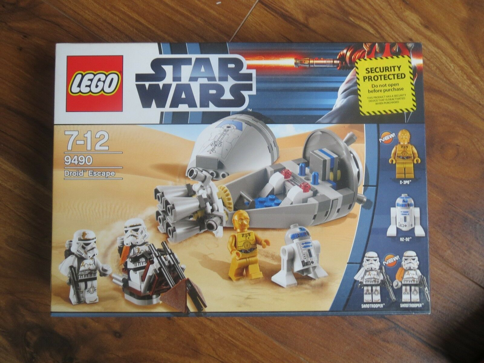 Lego Star Wars Droid Escape (7106)