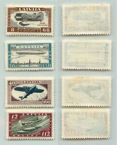 Latvia-1933-SC-CB21-CB22-mint-f1464