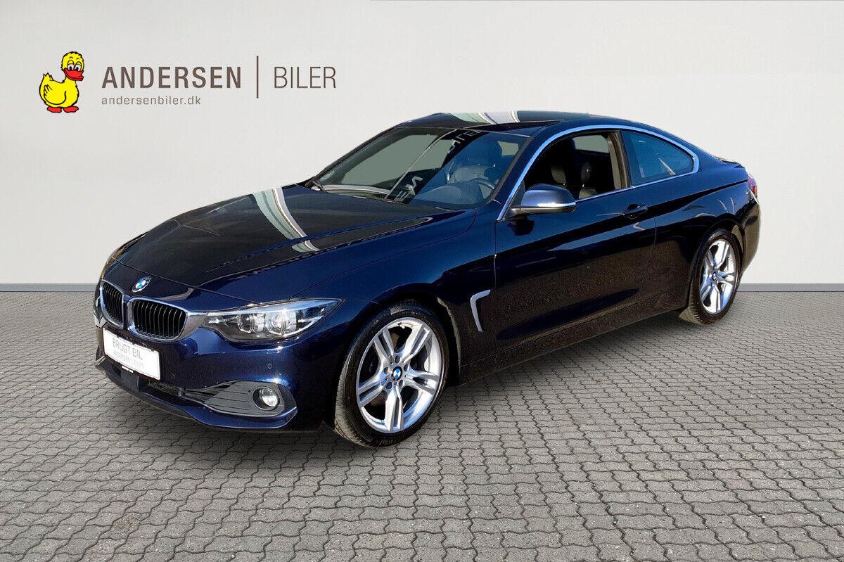 BMW 430i 2,0 Coupé aut. 2d - 389.980 kr.
