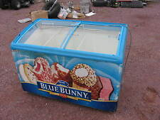 Aht Ice Cream Display Cabinet Model (Rios125) Freezer Blue Bunny
