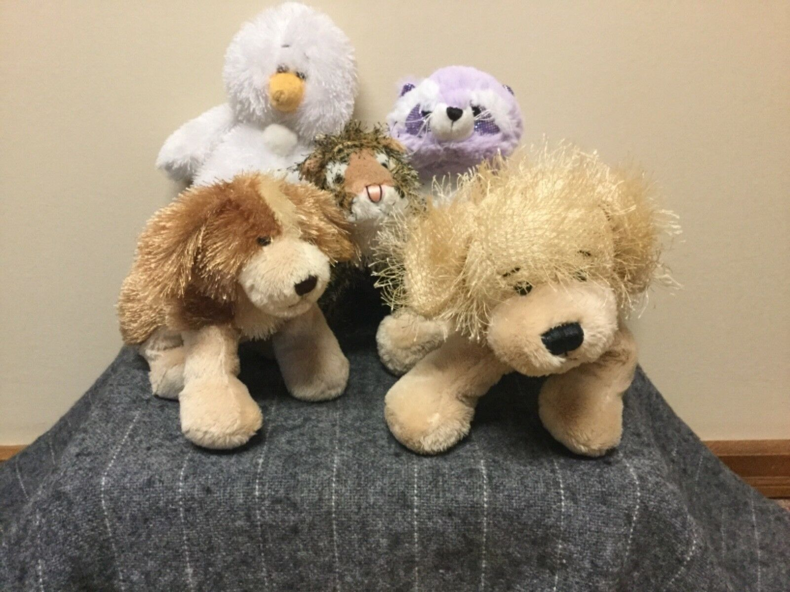 Ganz Lot Of (5) Plush Toys Collectibles