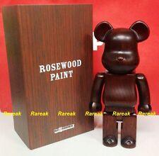 Medicom Be@rbrick 2015 Wooden Rosewood Paint Furniture 400% Rose wood bearbrick