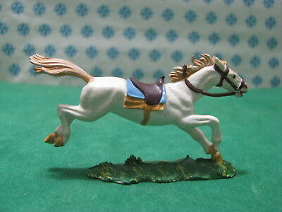 Seltene Vintage 9 - Pferd/ Horse 40 Mm. Original Hausser Elastolin 1969-1979