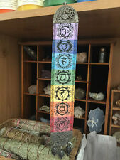 Seven Chakra Yoga Banner Hippie Tapestry Mandala Healing Center Wall Hanging Art